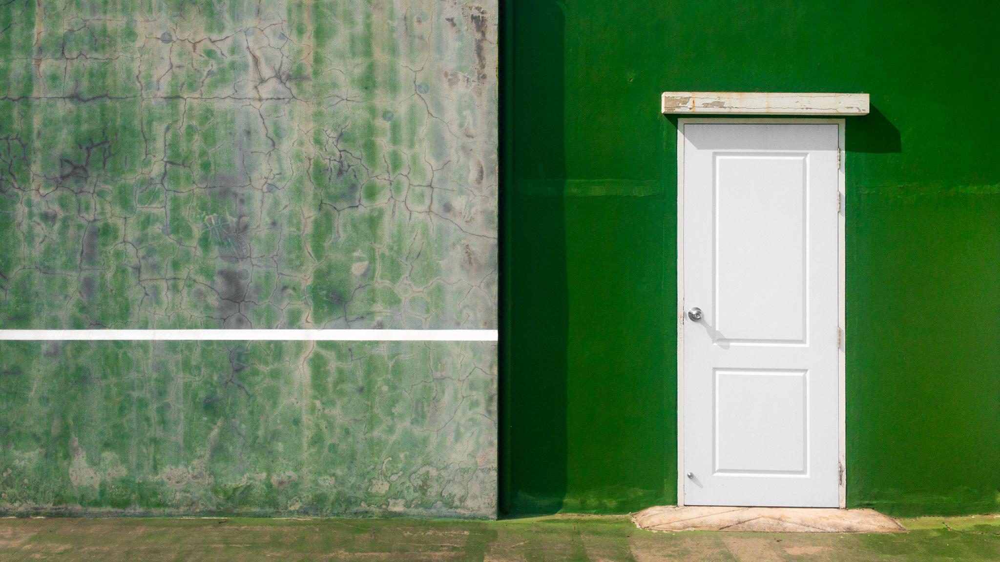 ประตูที่สนามเทนนิส