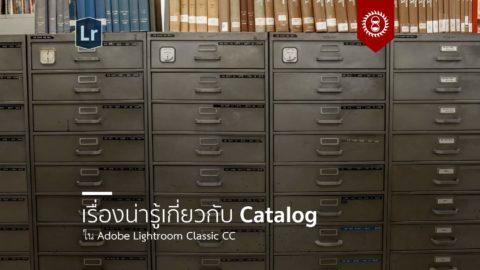 เรื่องน่ารู้เกี่ยวกับแคตตาล็อกใน LR Classic CC